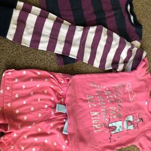 Toddler girl pj set 3T set of 2